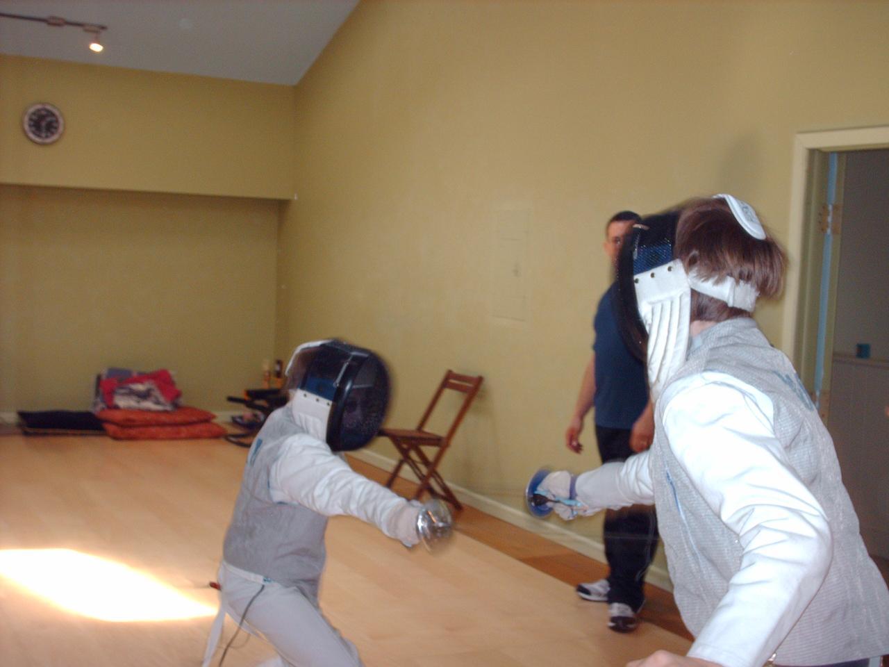 Peekskill Fencing Center Pics